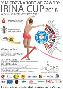 Plakat irina cup 2018 PL-01