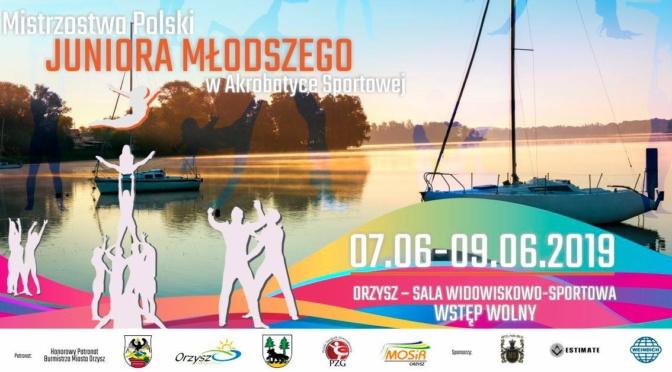 Mistrzostwa Polski Juniora mł. w akrobatyce sportowej